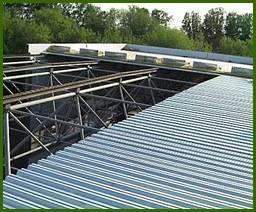 Оцинкованный профилированный настил для крыши Н75