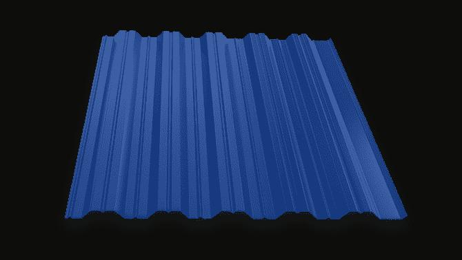 Профлист для кровли с полимерным покрытием НС35