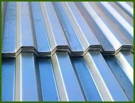 Оцинкованный профнастил для крыши С21