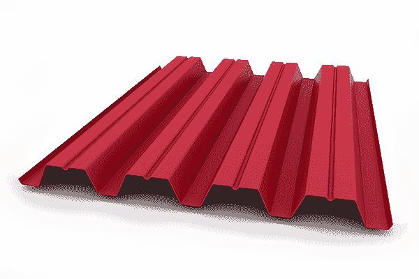 Забор с профнастила с полимерным покрытием Н57