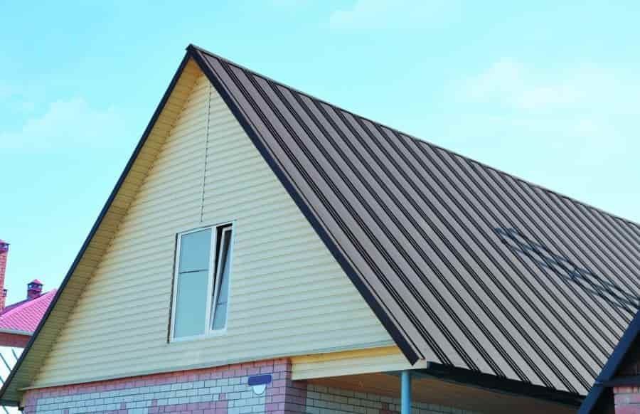 Оцинкованный профнастил для крыши НС35